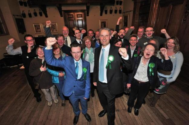 Greens win in Battenhall