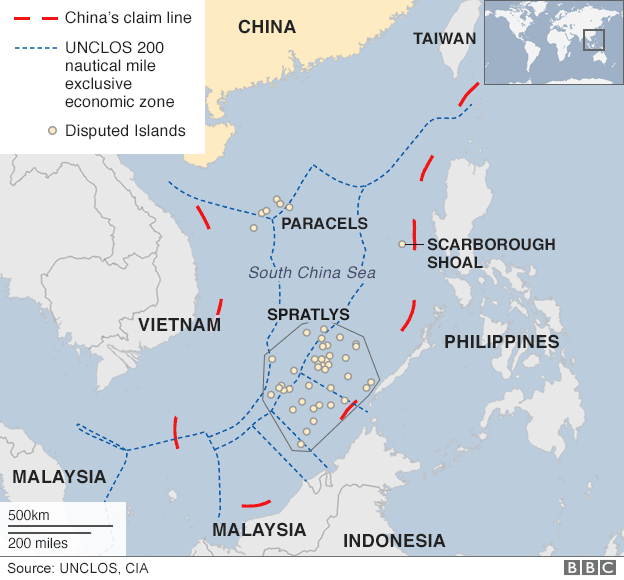 Territorial conflict in the South China Sea
