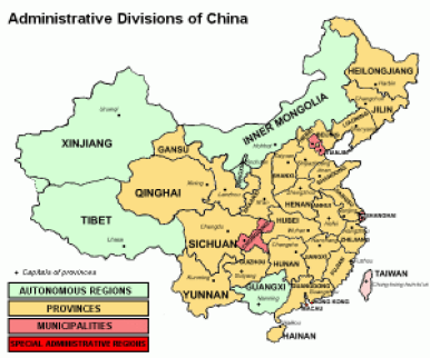 China_provinces