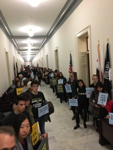 Sunrise Movement lobby Congress