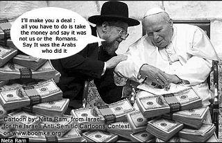 papal payoff cartoon