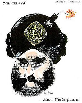 jyllands-posten Muhammed cartoon--ticking bomb