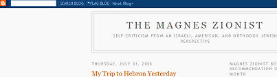 Magnes Zionist freeze out by Blogger.com