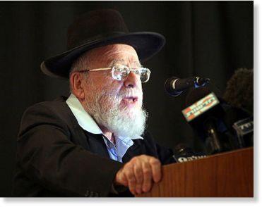 rabbi dov lior arab hater