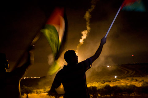 palestinian non violent resistance to occupation