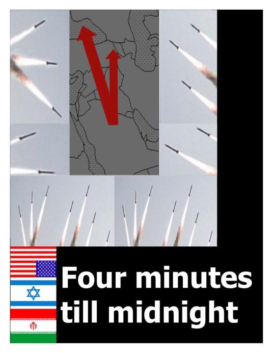 poster against iran war