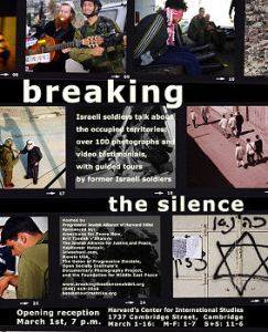 Breaking the Silence Photo Exhibit Tours U.S.