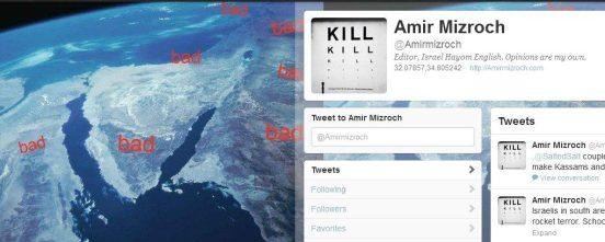 amir mizroch twitter profile