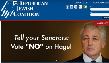 RJC attack on hagel