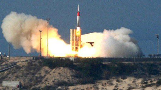 arrow missile test