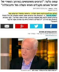 Israel Permits Russian Overflight of Israeli Airspace