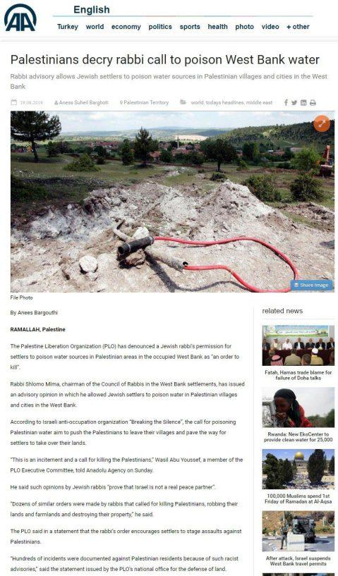 anadolu israellycool hoax