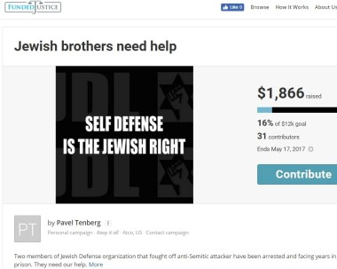 jdl hate crime suspects raising money for defense