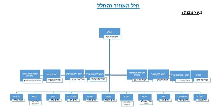iaf command structure sdot micha