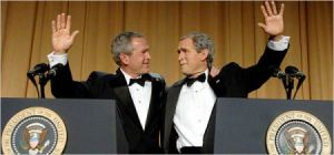Bush's Identity Crisis: Where's the Rest of Me?