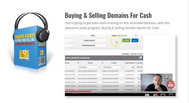 buying & selling domains for cash