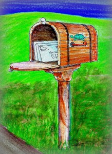 Mailbox, Richard Toyne Architect