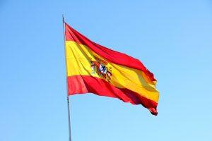 The Spanish flag
