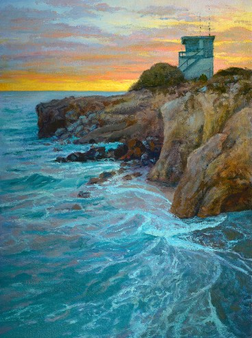 """""""A Serene Engagement"""" 30x40"""" Oil on canvas (sold)"""
