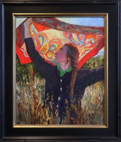 """""""Equinox Promenade"""" 20x24"""" Oil on Canvas"""