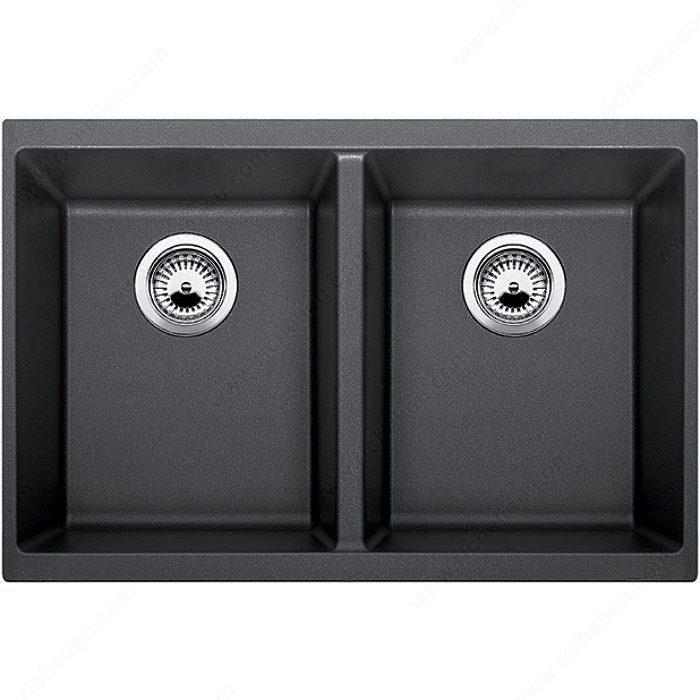 blanco sink precis u 2 double