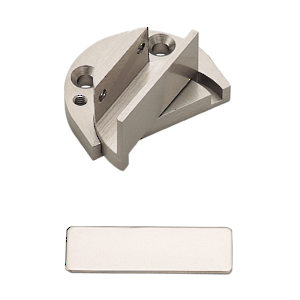 Recessed Reversible Pivot Hinge For Glass Door Within