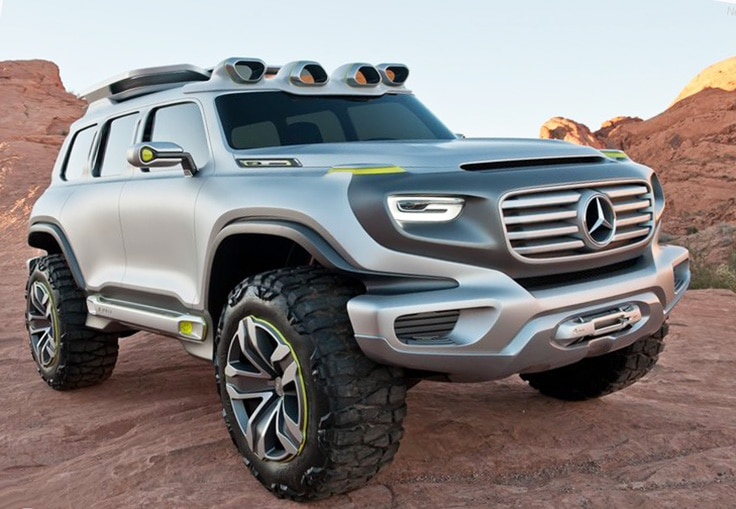 Mercedes-Benz Ener-G Force Concept