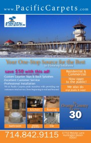 pacific carpets full page add