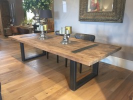 Esstisch Chalet, Tisch Industriedesign, Tisch Massivholz ...