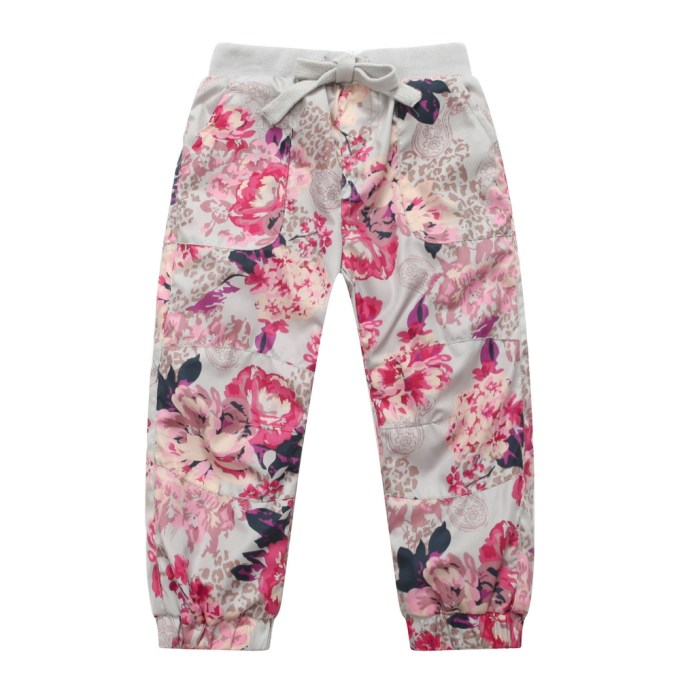 Cherry Blossom and Paisley Pants
