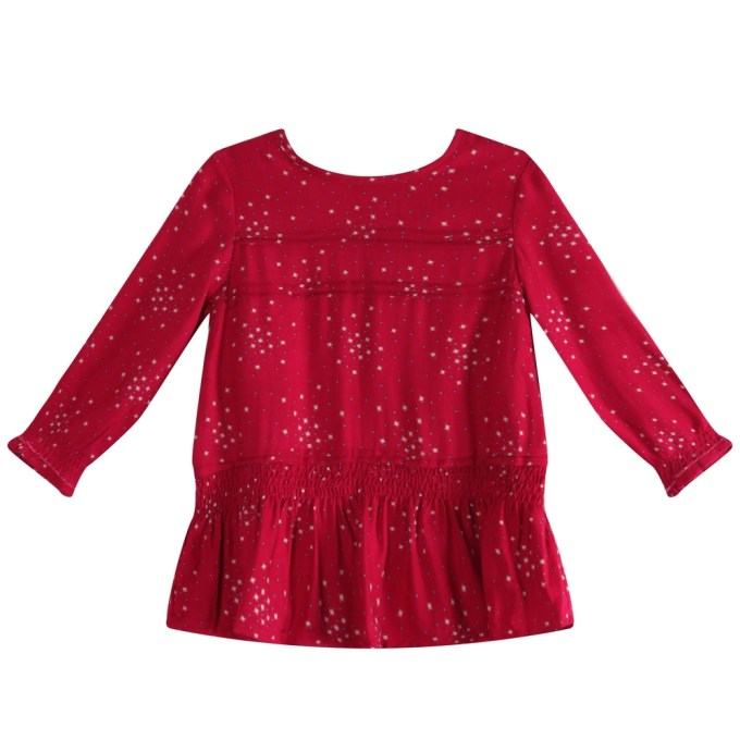 Blouse with Elastic Waist