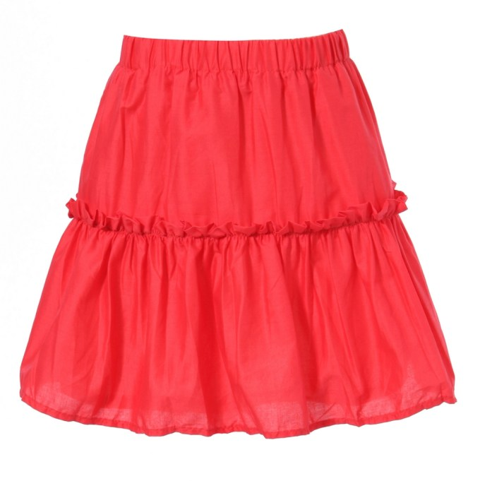 cute skirt with gathers details