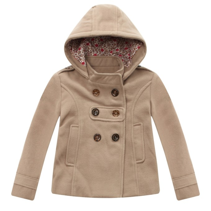Microfleece Jacket with Decorative Buttons