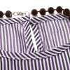 Striped Top with Necklace and Star Accent