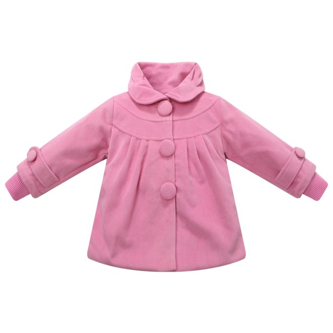 Winter Padding Jacket with Big Buttons