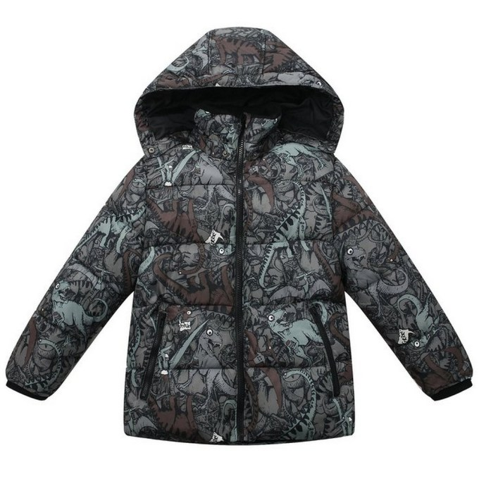 Padded Jacket with all over printed