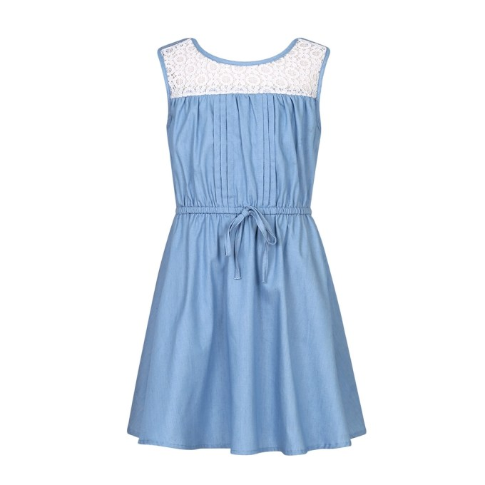 Cotton Sleeveless Dress
