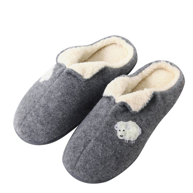 Comfort Lining Memory Foam indoor Slippers