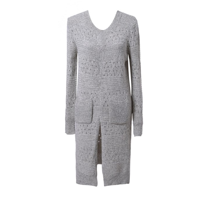 Long Cardigan Sweater Uni Size for S
