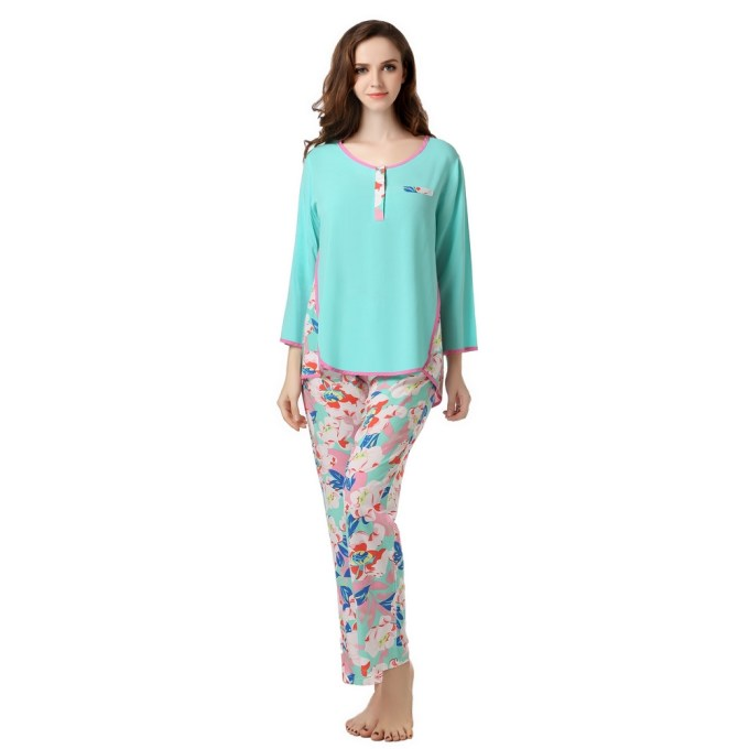 Leisure Pajama Sleepwear Set