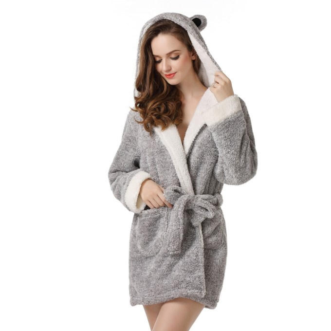 limited sale better price for cheap for sale Bathrobe with Two Ears