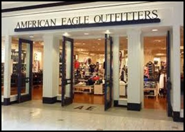 American Eagle Outfitters popular brand