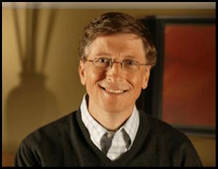 Bill Gates popular businessman