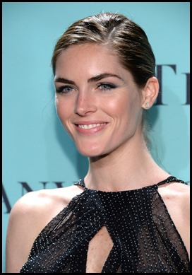Hilary Rhoda wears tiffany