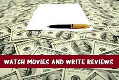 make money by watching movies and writing reviews