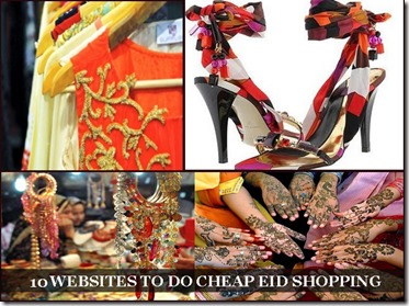 10 Websites to do Cheap Eid Shopping!