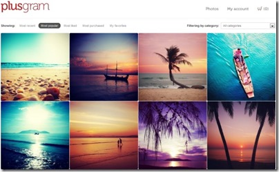 Plusgram for photographers