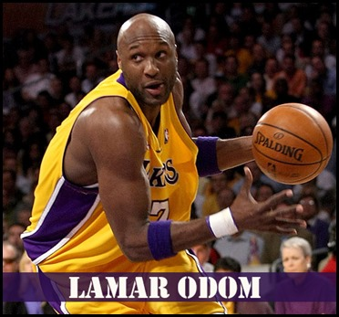 Lamar Odom turned into a Most Famous Athlete in 2013