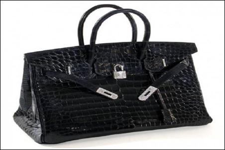 Hermes Matte Crocodile Birkin Bag