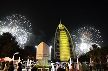 new years 2014 dubai